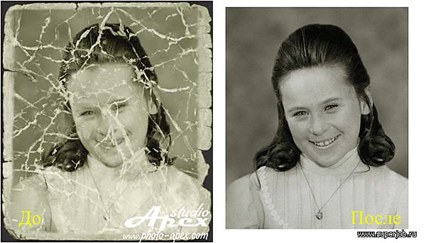 Как в фотошопе сделать старые фото
